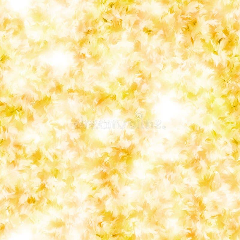 Fondo o textura ligero abstracto inconsútil del oro fotografía de archivo