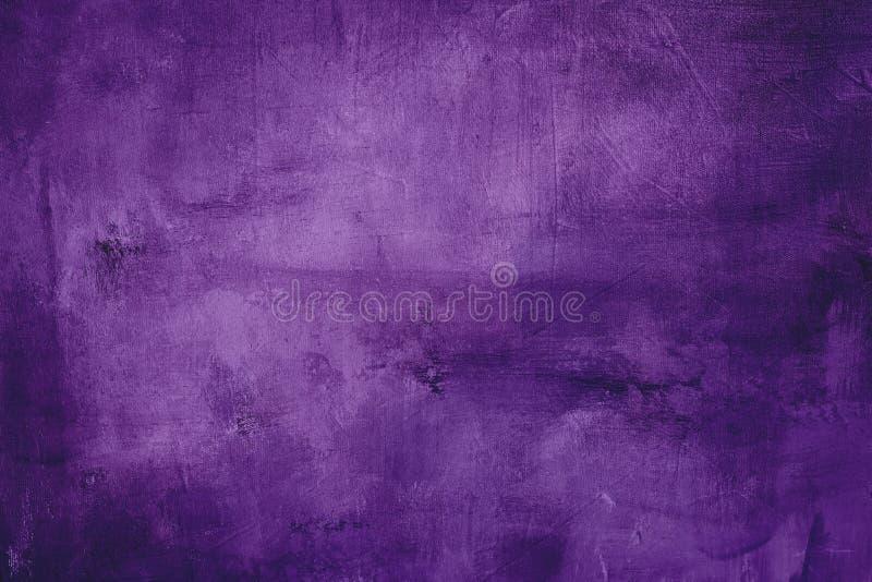 Fondo o textura púrpura de la pintura imagen de archivo libre de regalías