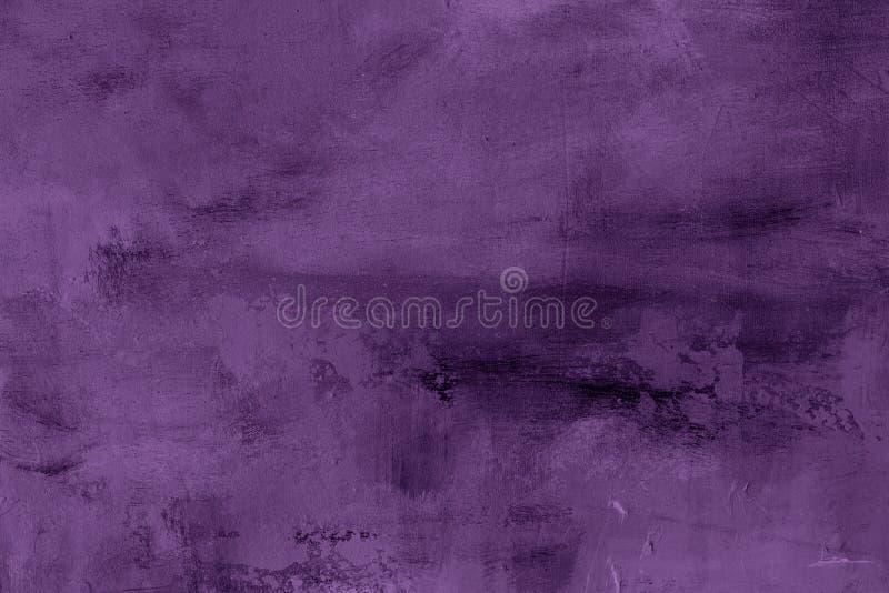 Fondo o textura sucio púrpura de la pintura foto de archivo libre de regalías