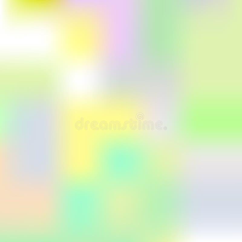Fondo olográfico, plantilla, cubierta colorida ilustración del vector