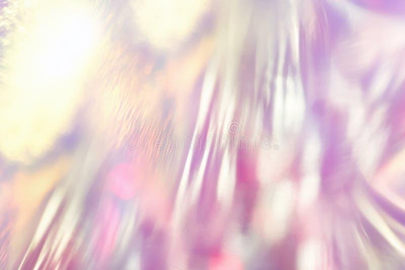 Fondo olográfico vibrante de lujo abstracto de la hoja imágenes de archivo libres de regalías
