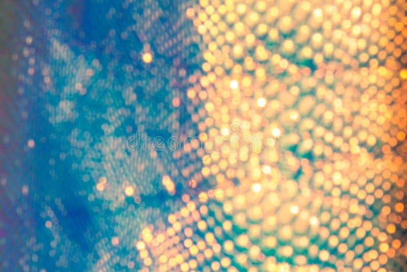 Fondo olografico d'avanguardia dell'estratto con i colori al neon fotografia stock