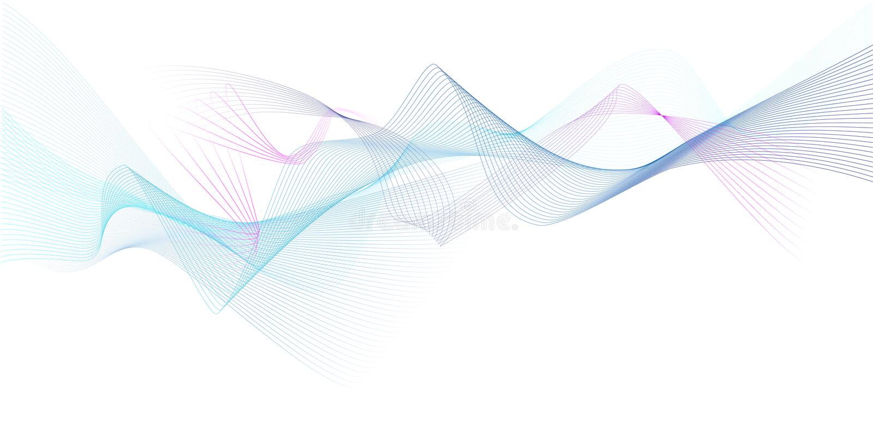 Fondo ondulato moderno colorato di vettore immagini stock