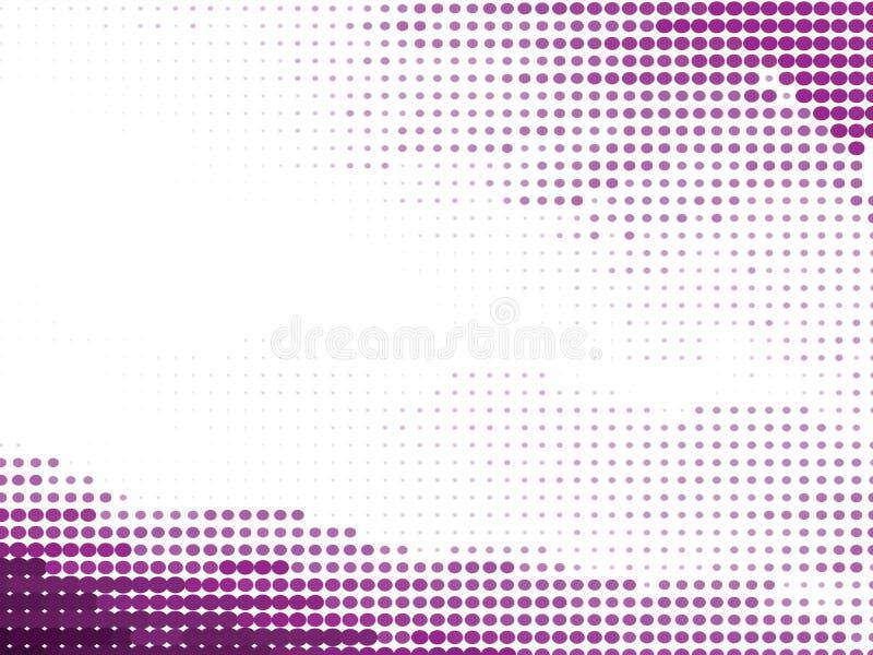 Fondo orgánico del tono medio púrpura ilustración del vector