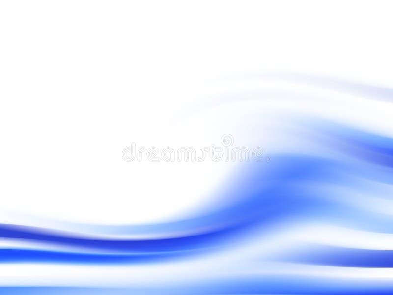 Fondo originado en ordenador - onda ilustración del vector