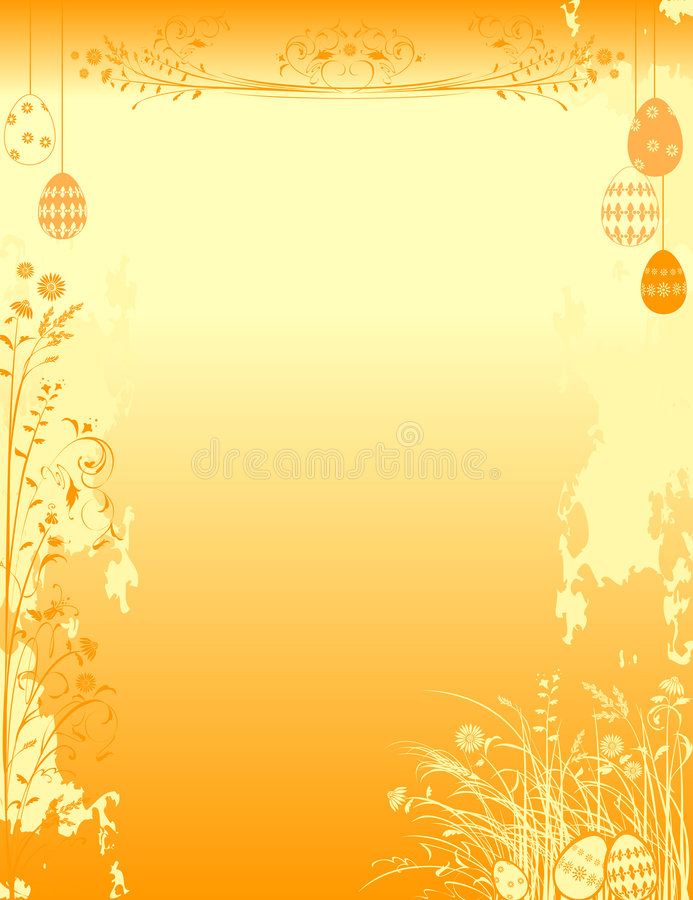 Fondo ornamental de pascua libre illustration