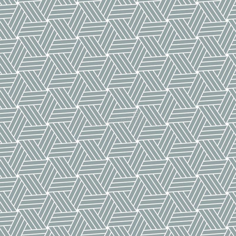 Fondo ornamentale geometrico del modello Modello del grafico di vettore illustrazione vettoriale