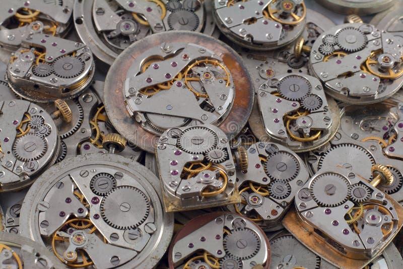 Fondo - orologi fotografie stock