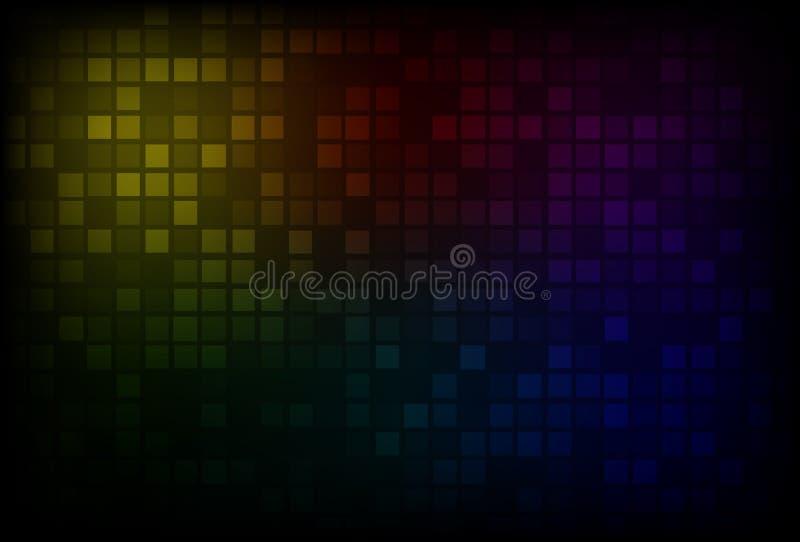 Fondo oscuro del arco iris libre illustration