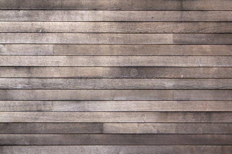 Fondo oscuro resistido de tarjetas de madera imágenes de archivo libres de regalías