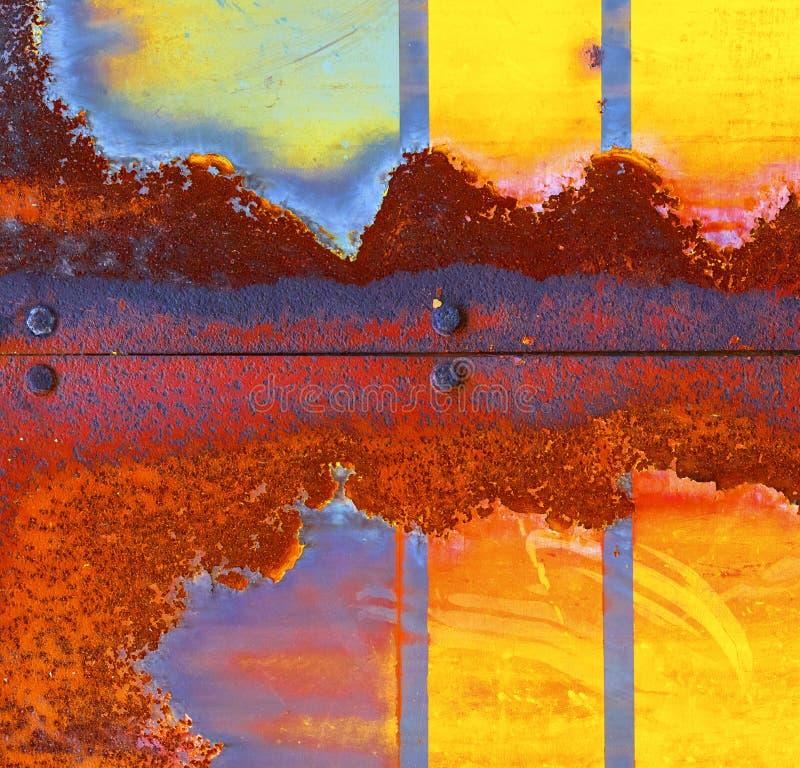Fondo oxidado fotografía de archivo