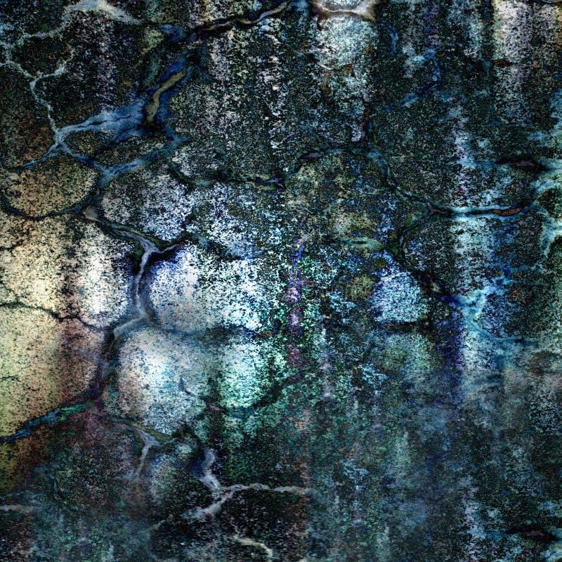 fondo Oxidado-coloreado del grunge foto de archivo libre de regalías