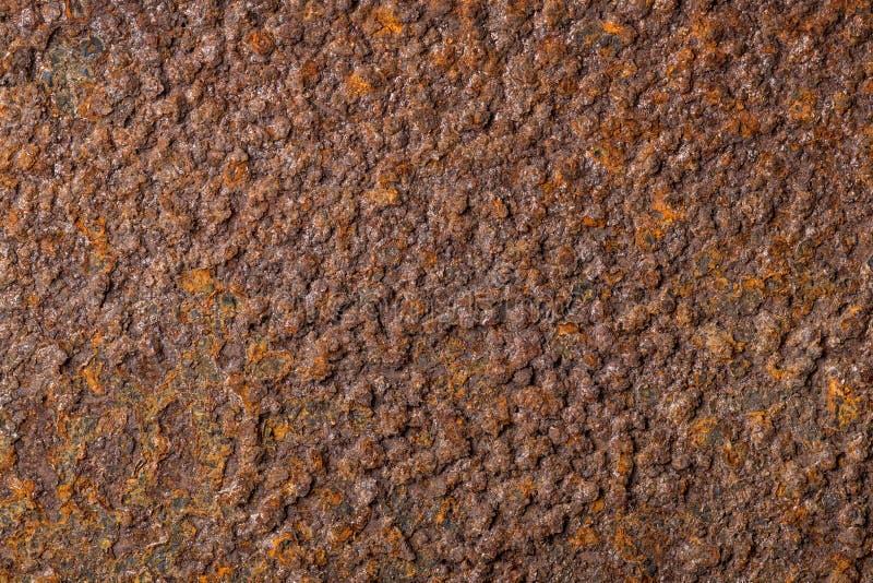 Fondo oxidado colorido corroído de la textura del metal imágenes de archivo libres de regalías