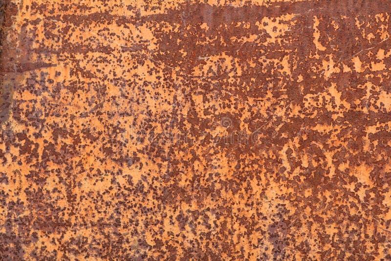 Fondo oxidado colorido corroído de la textura del metal foto de archivo libre de regalías