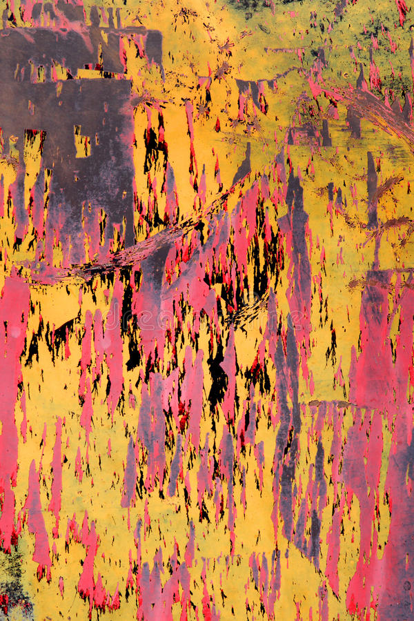 fondo oxidado colorido de la pintura fotos de archivo