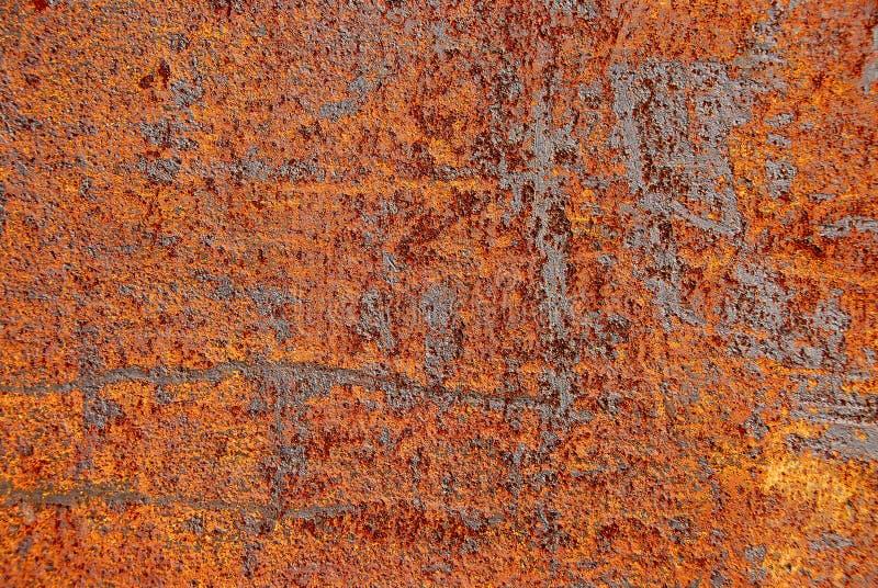 Fondo oxidado del metal fotos de archivo