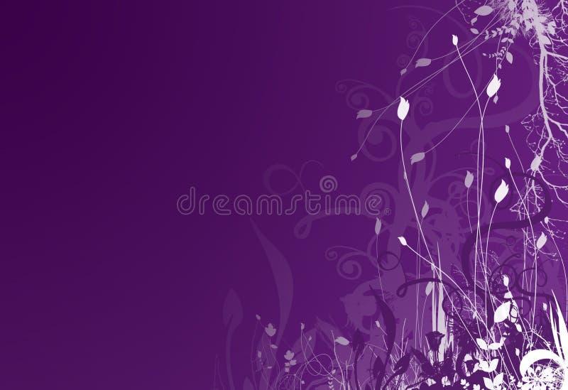 Fondo púrpura 2 del resorte fotos de archivo