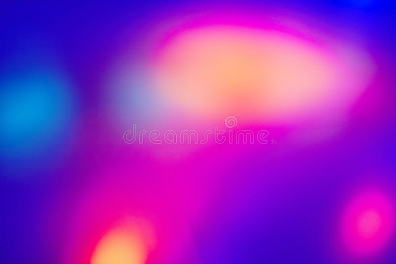 Fondo púrpura azul de la pendiente psicodélica Spac texturizado luz ilustración del vector