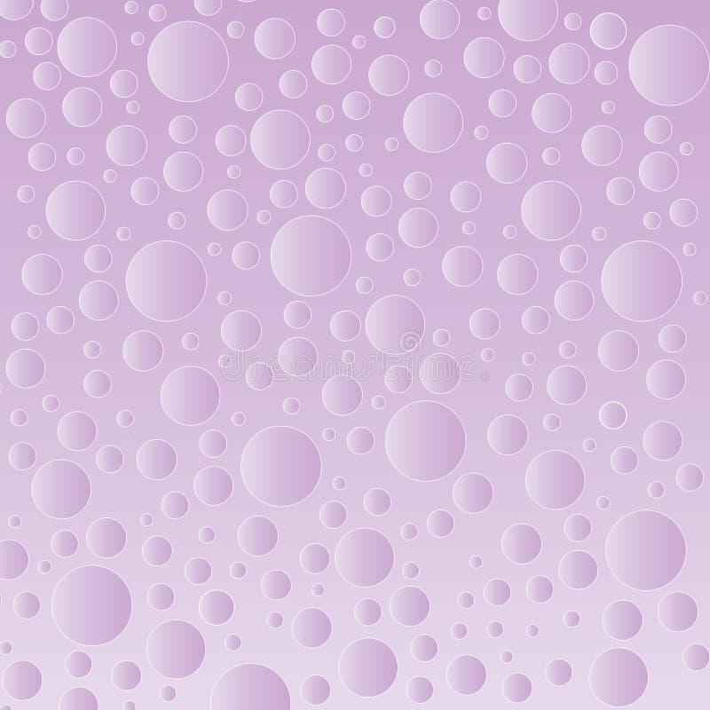 Fondo púrpura de la burbuja fotografía de archivo