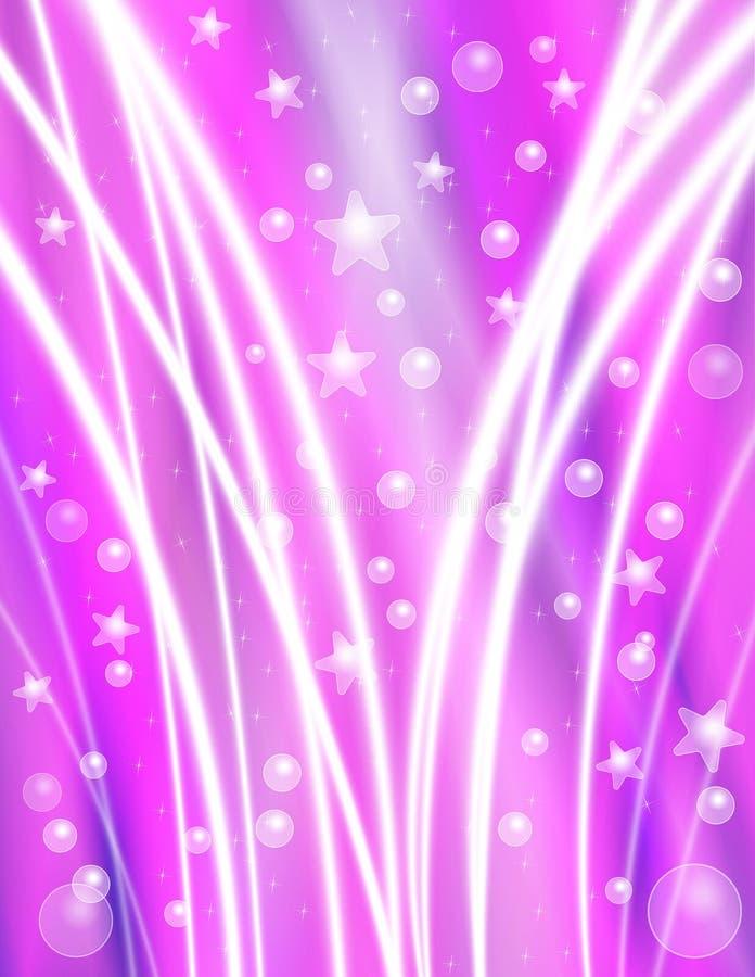 Fondo púrpura de la celebración stock de ilustración