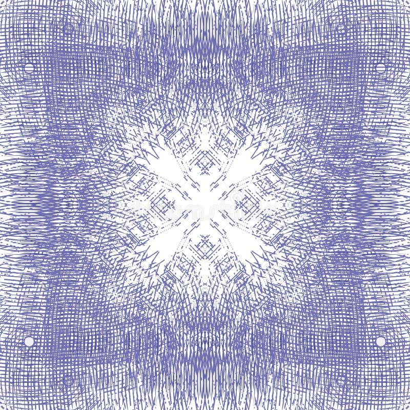 Fondo púrpura de movimiento circular del giro del diseño libre illustration