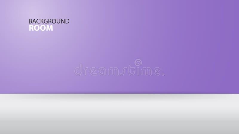 Fondo púrpura de sitio, plantilla vacía del vector, diseño de la bandera, cubierta, página web, anuncio, textura libre illustration