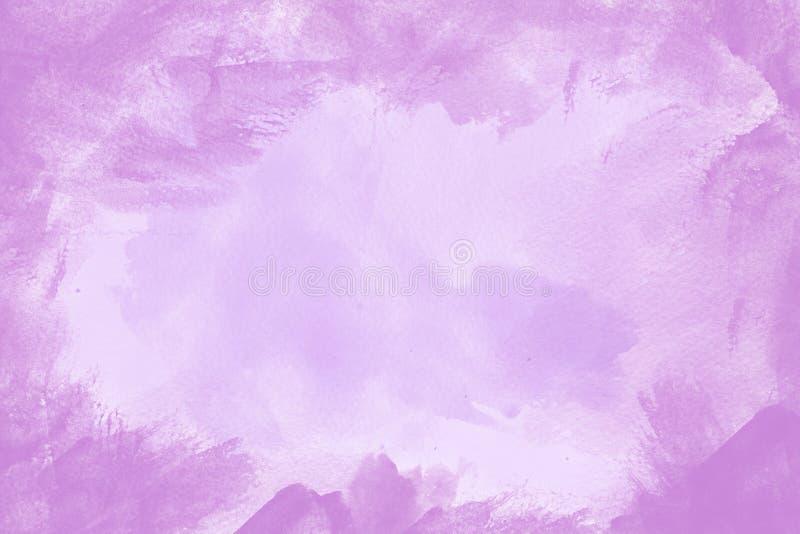 Fondo púrpura del marco de la pintura libre illustration
