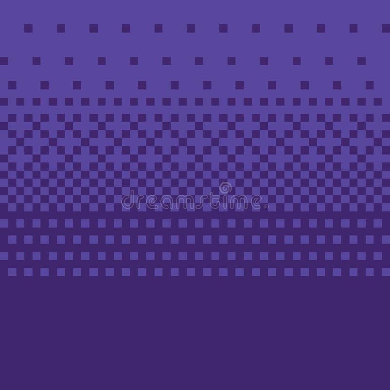 Fondo púrpura del vector de la pendiente del estilo del arte del pixel stock de ilustración