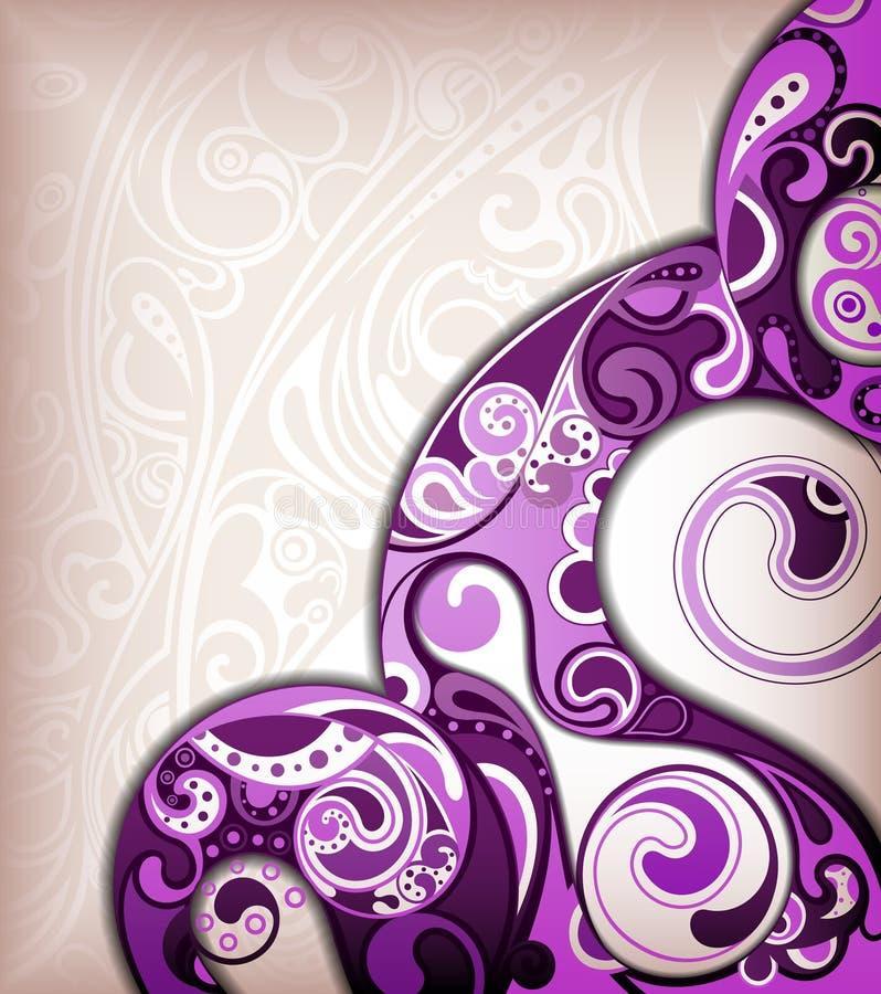 Fondo púrpura retro libre illustration