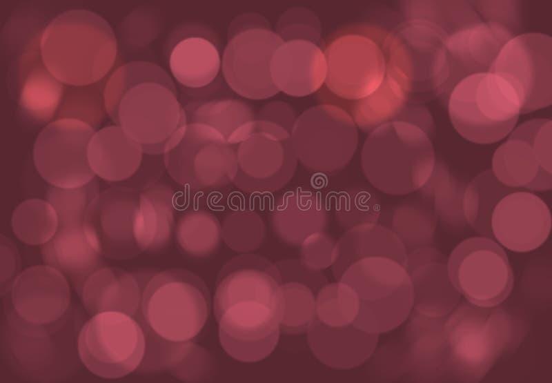 Fondo púrpura rojo de la estrella de la falta de definición de la galaxia del espacio de Borgoña Brown stock de ilustración