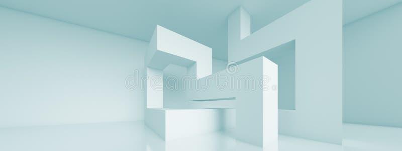 Fondo panoramico di architettura illustrazione di stock