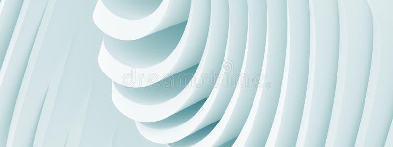 Fondo panoramico di architettura illustrazione vettoriale