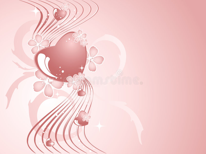 Download Fondo Para El Día De Tarjeta Del Día De San Valentín Ilustración del Vector - Ilustración de modelo, desfile: 7285045