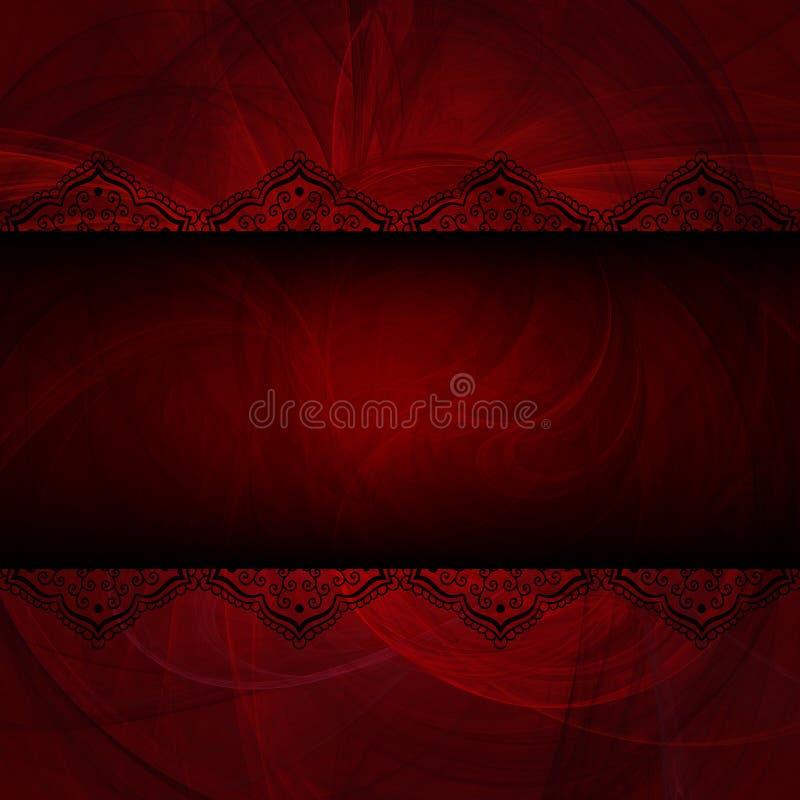 Fondo para la tarjeta, el cartel, el aviador o la bandera romántico. stock de ilustración