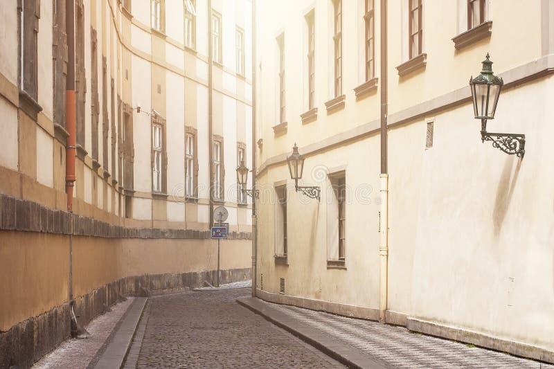 Fondo para las ciudades viejas europeas fotografía de archivo