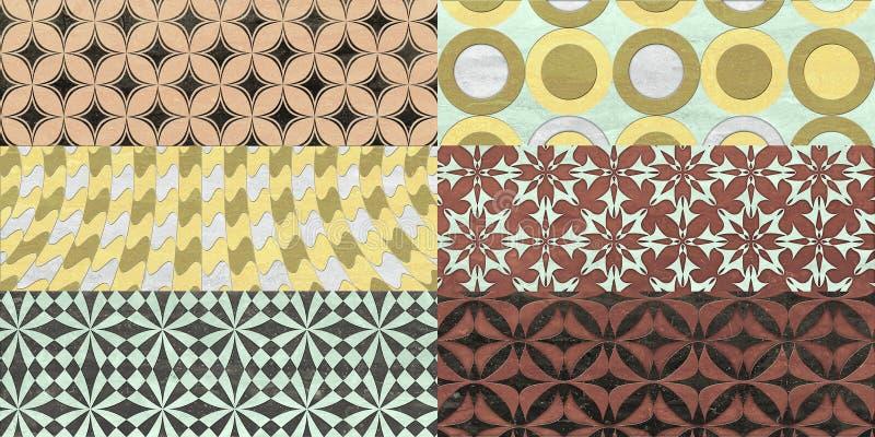 Fondo para las tejas de la pared, textura ilustración del vector