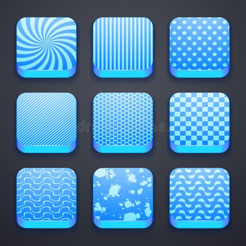 Fondo para los iconos del app libre illustration