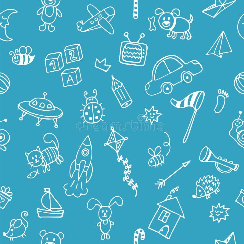 Fondo para los ni os peque os lindos se dibujado mano de for Fondos de piscinas dibujos
