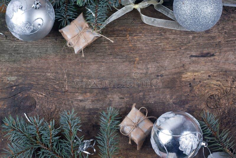 Fondo para los saludos de la Navidad imágenes de archivo libres de regalías