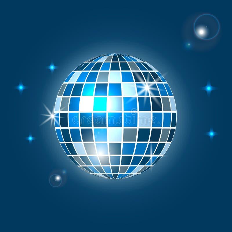 Fondo, partito e clubbing della palla della discoteca Illustrazione di vettore illustrazione vettoriale
