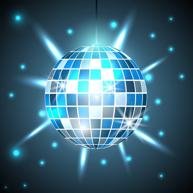 Fondo, partito e clubbing della palla della discoteca Illustrazione di vettore royalty illustrazione gratis