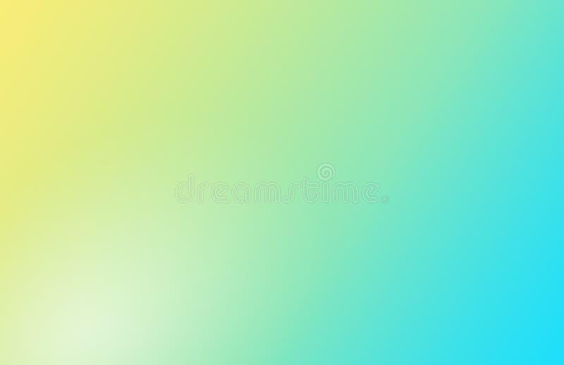Fondo pastello molle blu giallo di pendenza fotografie stock libere da diritti