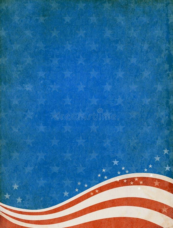 Fondo patriótico libre illustration