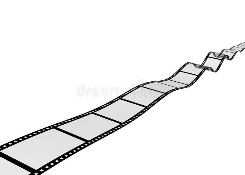 Fondo - pellicola fotografica dell'estratto 3d fotografia stock libera da diritti