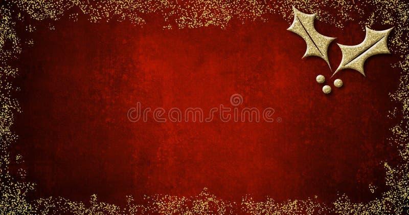 Fondo per la redazione delle cartoline di Natale fotografie stock libere da diritti