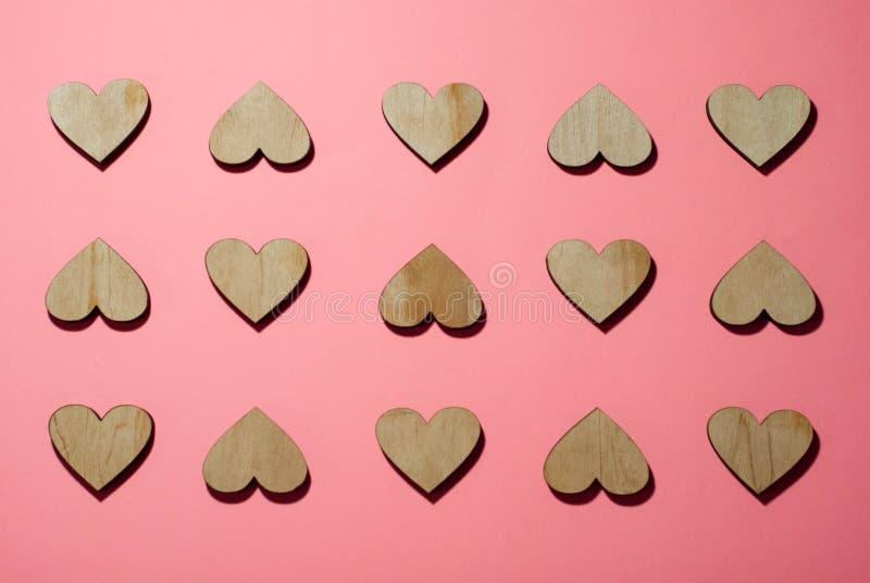 Fondo per progettazione, cartolina d'auguri di progettazione, giorno del cuore del ` s del biglietto di S. Valentino immagini stock libere da diritti