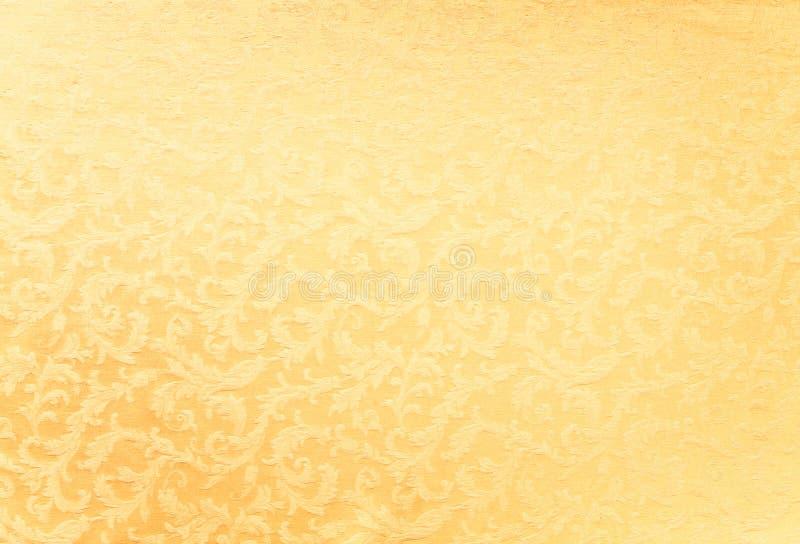 Fondo pesado de la tela del brocado foto de archivo