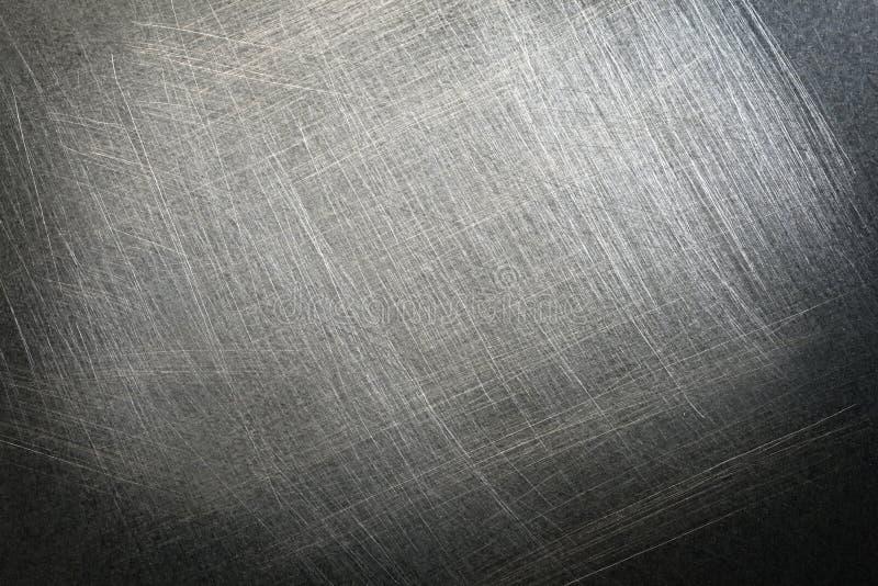 Fondo pieno di fruscii d'acciaio fotografia stock libera da diritti