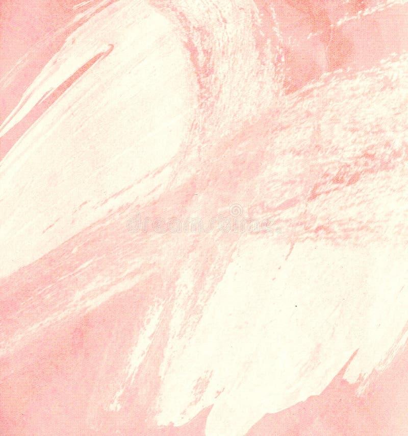 Fondo pintado abstracto del rosa en colores pastel fotos de archivo libres de regalías