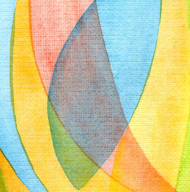 Fondo pintado acuarela abstracta. Textura de papel. imágenes de archivo libres de regalías